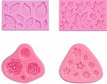 Stampo per Mini Fondente Rosa Torta di Cottura Diy
