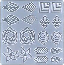 Stampo per orecchini a forma di orecchini a forma