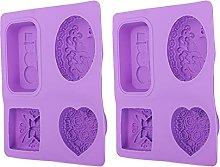 Stampo per sapone fai-da-te da 2 pezzi, stampo per