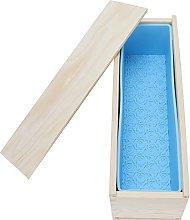 Stampo per sapone, stampo rettangolare in silicone