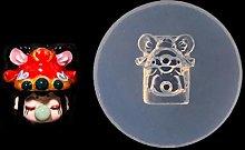 Stampo per scultura in silicone per bambole in