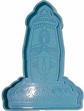Stampo per statua di Buddha, in silicone, per