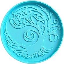 Stampo per tazza in silicone per albero magico, in