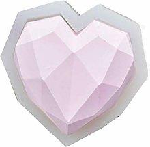 Stampo per torta a forma di cuore in 3D e