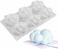 Stampo per torta a forma di nuvola in silicone per