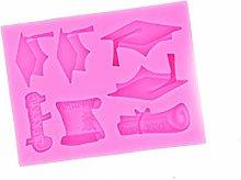 Stampo per torta di fondente per laurea a forma di