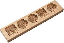 Stampo per torta di luna di pasta di legno a forma