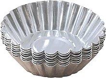 Stampo per torta di uovo, in acciaio inox, per