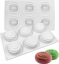Stampo per Torta in Silicone, 6 Cavità Forma di