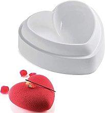 Stampo per torta in silicone a forma di cuore, in