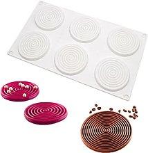 Stampo per torta in silicone a forma di spirale