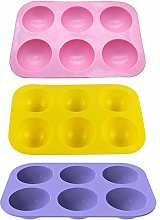 Stampo per torta in silicone a mezza sfera, per