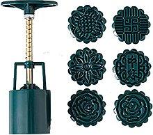 Stampo per torta lunare con 6 stampini per