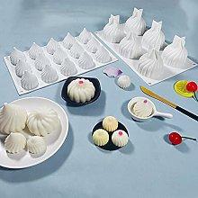 Stampo per torta lunare, in silicone per torte,