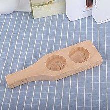 Stampo per torte in legno, 24,9 x 7,6 x 2,3 cm,