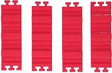 Stampo per tortiera in silicone da 4 pezzi