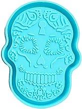 Stampo per vassoio a forma di testa di teschio in