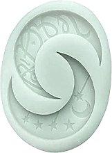 Stampo QWET Musulmana Eid Luna Decorazione