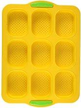 Stampo rettangolare per pane in silicone per uso