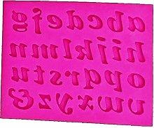 Stampo Silicone Alfabeto - Lettere Stampatello