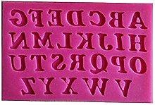 Stampo Silicone Lettere Alfabeto - Stampatello -