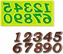 Stampo Silicone Numeri - Calchi in Silicone -