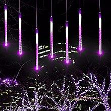 Starsmyy Luci della Pioggia di Meteore 30cm 8 Tubi