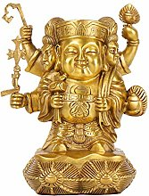 Statua A Tre Facce del Dio della Ricchezza,