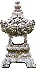 Statua da Giardino con Lanterna A Pagoda Solare