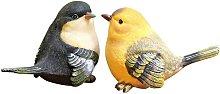 Statua da giardino con uccelli tagliati Statua da