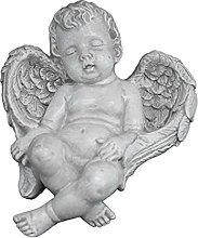 Statua decorativa da giardino a forma di angelo