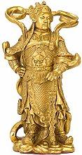 Statua Decorativa in Ottone, Protezione Vedica -