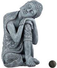 Statua del Buddha con Testa Piegata, XL 60cm, da