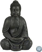 Statua del Buddha Seduto XL 70cm, per Giardino,