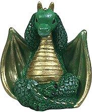 Statua del drago, statuetta del drago carino,
