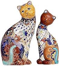Statua del gatto del giardino, decorazione della