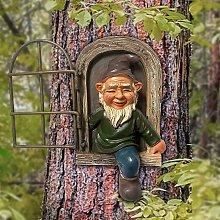 Statua del giardino di gnomo da giardino