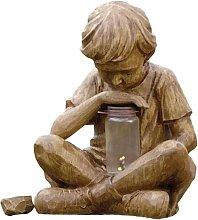 Statua del ragazzo Ornamento da giardino Scultura