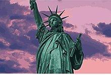 Statua Della Libertà 35 Pezzi Puzzle In Legno