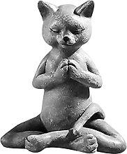 Statua di animale da Yoga, statua carina di rana