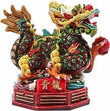 Statua di Buddha Feng Shui Drago/Feng Shui Drago
