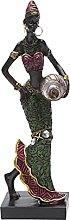 Statua di donne africane, scultura femminile