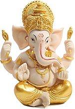 Statua di elefante Scultura Ganesha Buddha Figura