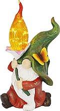 Statua di gnomo da giardino, 7,87 × 6,30 × 13,78