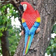 Statua di pappagallo appeso, 12,2 ''