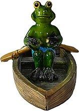 Statua di rana galleggiante, statua di rana della