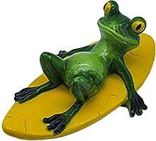 Statua di rana galleggiante, statua di rana seduto