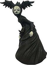 Statua di strega, scultura moderna, statua da
