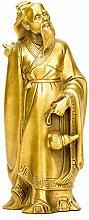 Statua in Ottone, Santo Medico Hua Tuo - Statua