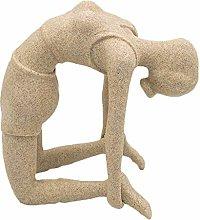 Statua per Ragazza Yoga, Scultura di Carattere